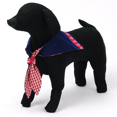 画像3: 【バンダナ】Dogs Tail セーラーカラー(レッドライン)