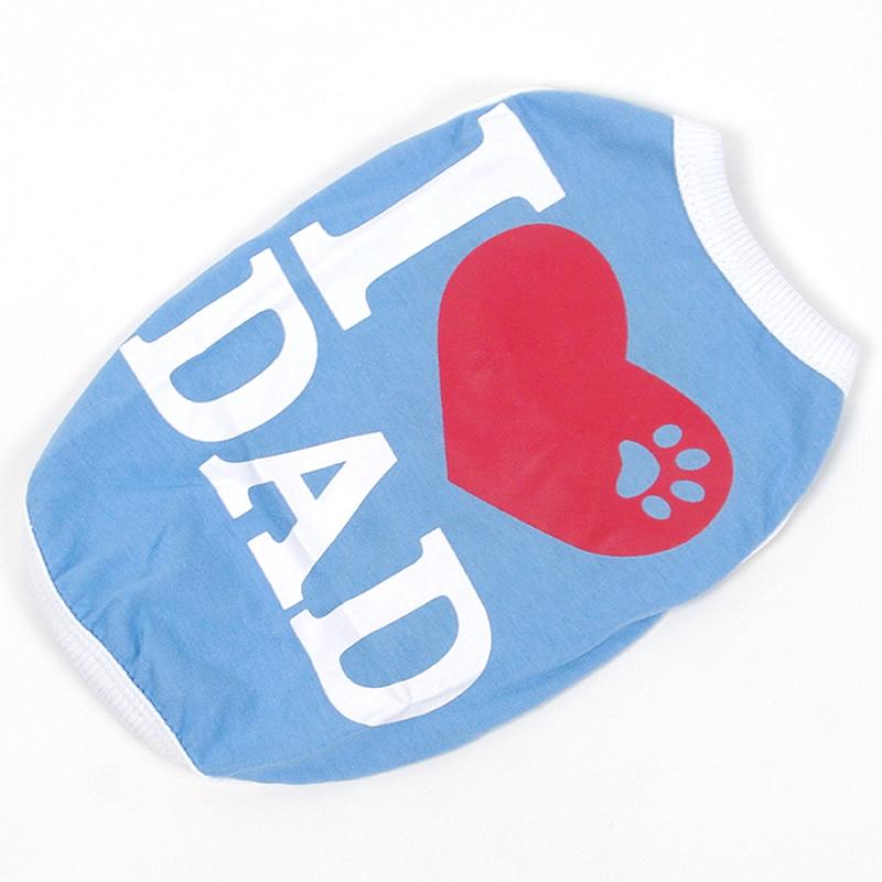 画像1: 【Tシャツ】I Love DAD(アイラブダッド)ノースリーブTシャツ