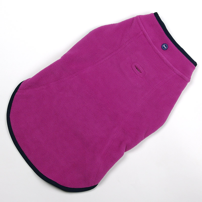 画像1: 【ジャケット】Mascot リバーシブル・フリースジャケット(ピンク)