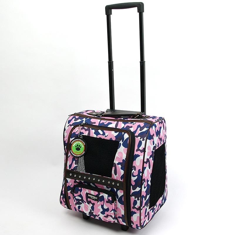 画像1: 【カート】コロコロカート(ピンク迷彩柄)