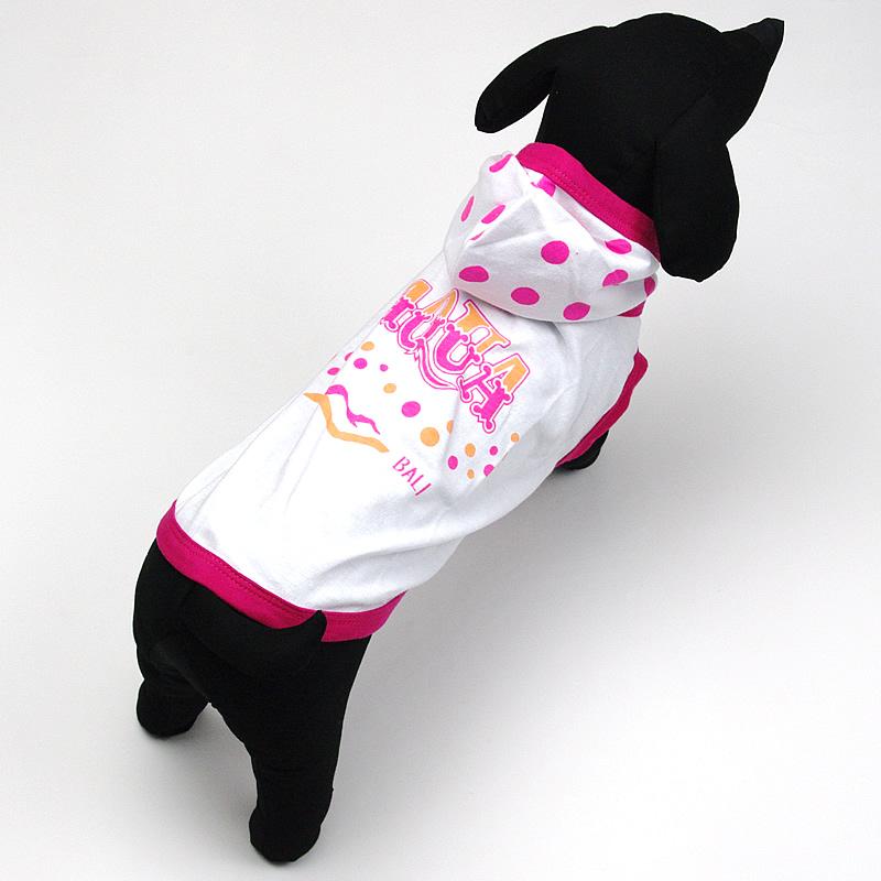 画像1: 【Tシャツパーカー】Dogs Tail アクアバリ Tシャツパーカー(ピンク)